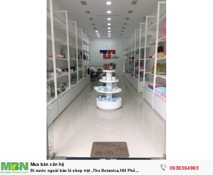 Đi nước ngoài bán lô shop trệt ,The Botanica,104 Phổ Quang,P2,Q.Tân Bình
