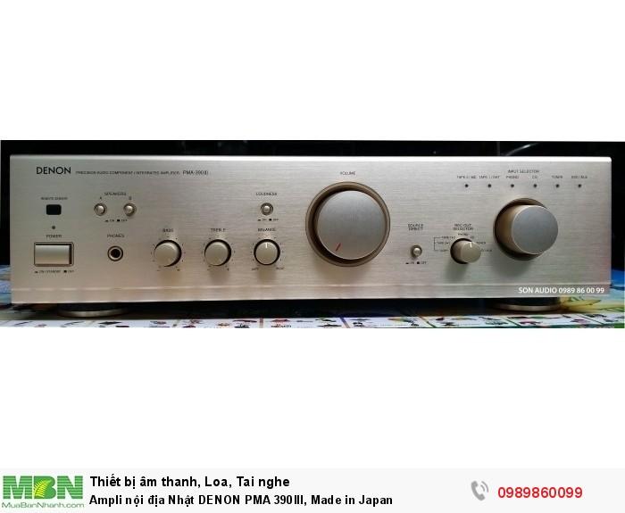 Ampli nội địa Nhật DENON PMA 390III, Made in Japan0