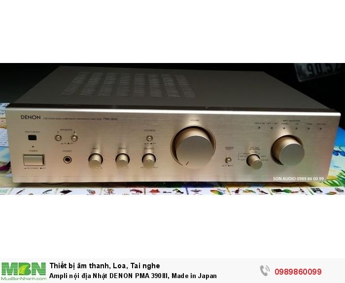Ampli nội địa Nhật DENON PMA 390III, Made in Japan1