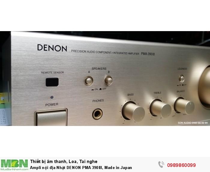 Ampli nội địa Nhật DENON PMA 390III, Made in Japan2