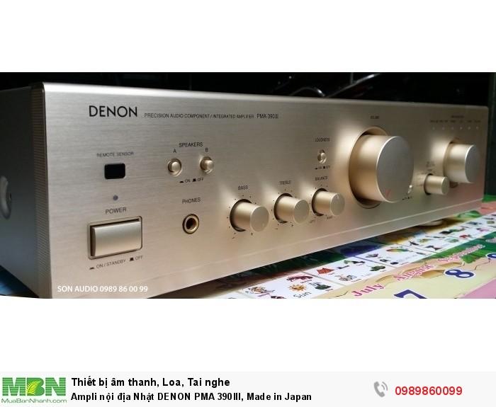 Ampli nội địa Nhật DENON PMA 390III, Made in Japan3
