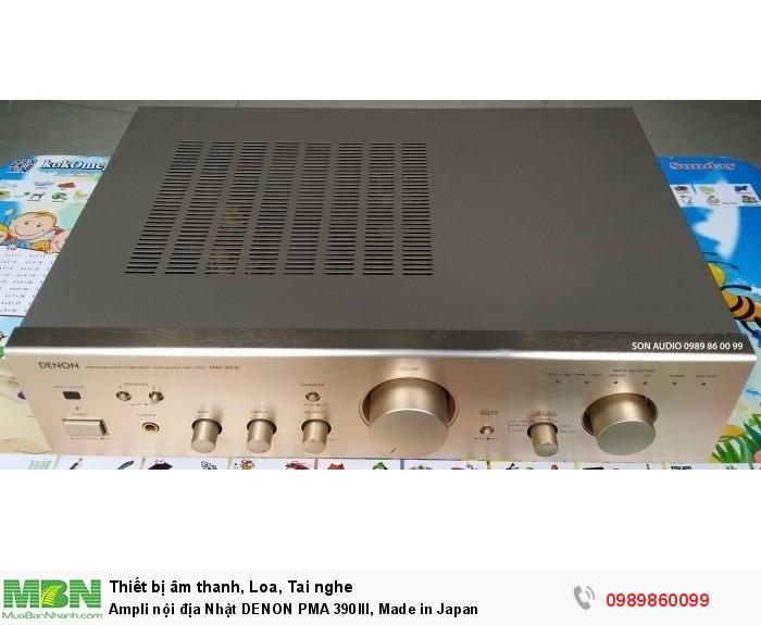 Ampli nội địa Nhật DENON PMA 390III, Made in Japan5