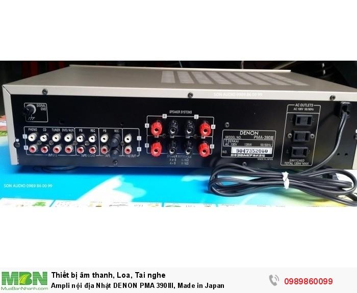 Ampli nội địa Nhật DENON PMA 390III, Made in Japan12