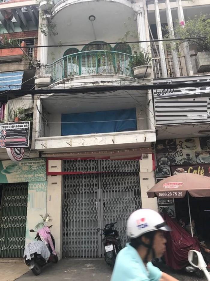 Cho thuê nhà MT Ngô Thị Thu Minh, p1, Tân Bình, 3 tầng