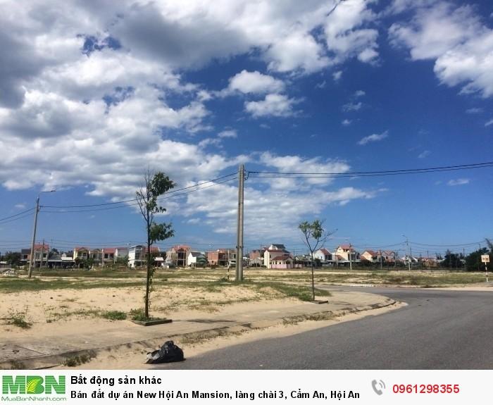 Bán đất dự án New Hội An Mansion, làng chài 3, Cẩm An, Hội An
