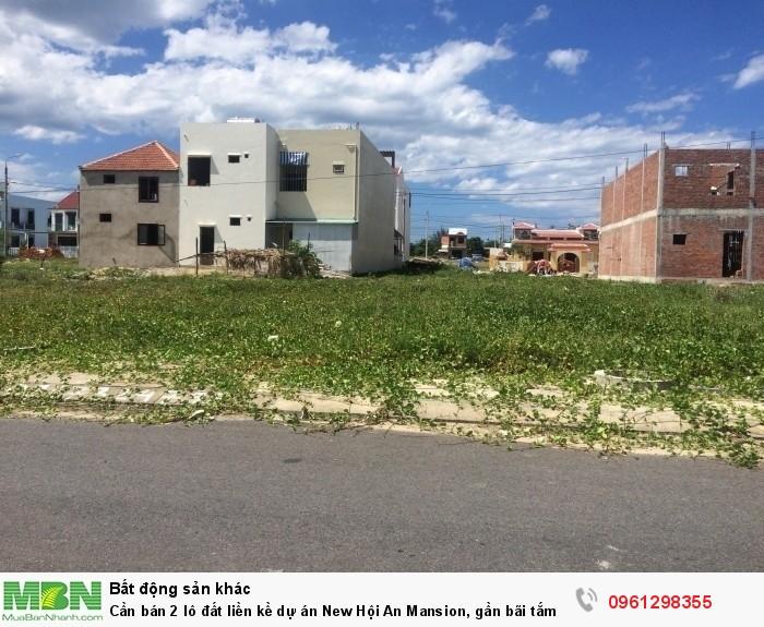 Cần bán 2 lô đất liền kề dự án New Hội An Mansion, gần bãi tắm An Bàng