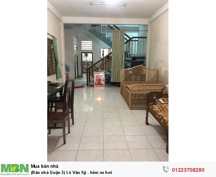 Bán nhà HXH Lê Văn Sỹ, quận 3 - (DT: 5,95m x 18,24m - NH: 6,6m)