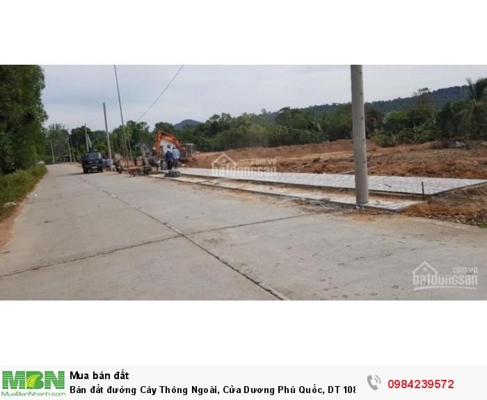Bán đất đường Cây Thông Ngoài, Cửa Dương Phú Quốc, DT 108m2 có SHR