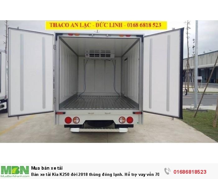Bán xe tải KIA K250 đời 2020 Thùng đông lạnh. Hỗ trợ vay vốn 70% 2