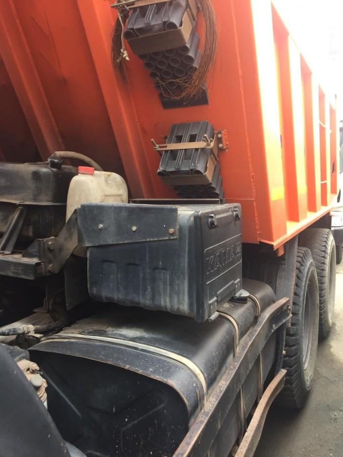 Bán lô xe ben Kamaz 15 tấn cũ 2015 (Đăng ký lần đầu 2016)
