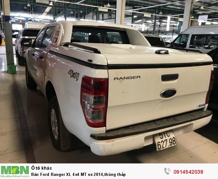 Bán Ford Ranger XL 4x4 MT sx 2014,thùng thấp