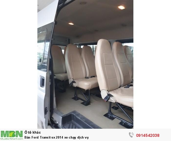 Bán Ford Transit sx 2014 xe chạy dịch vụ 2