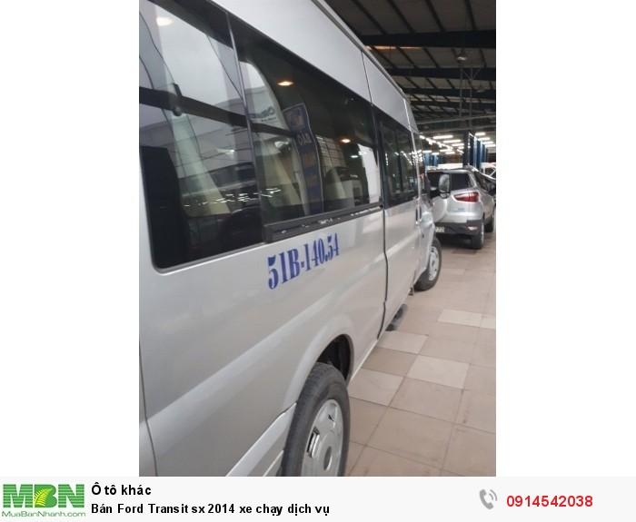 Bán Ford Transit sx 2014 xe chạy dịch vụ 4