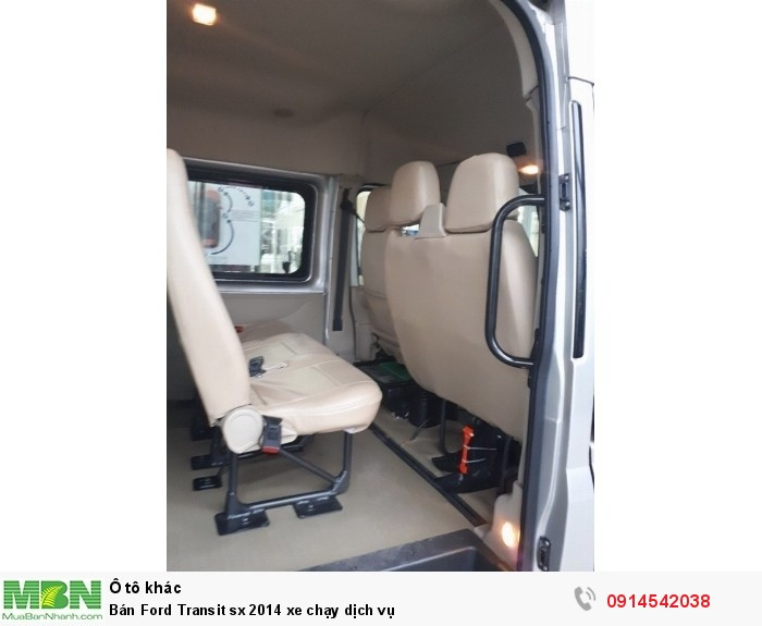 Bán Ford Transit sx 2014 xe chạy dịch vụ 5