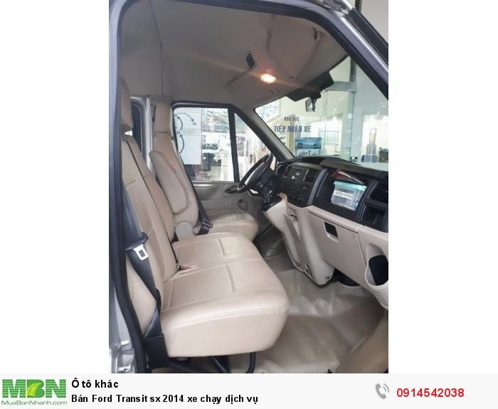 Bán Ford Transit sx 2014 xe chạy dịch vụ 7