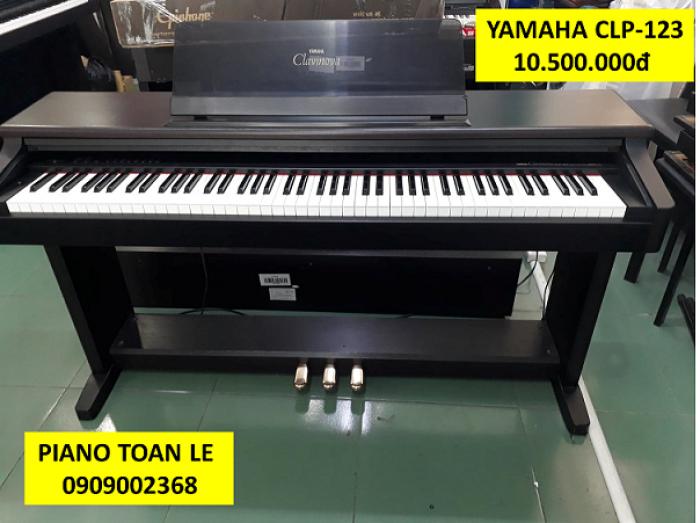 Đàn Piano điện Yamaha CLP-123 , giá rẻ bất ngờ - âm thanh xuất sắc!!!2