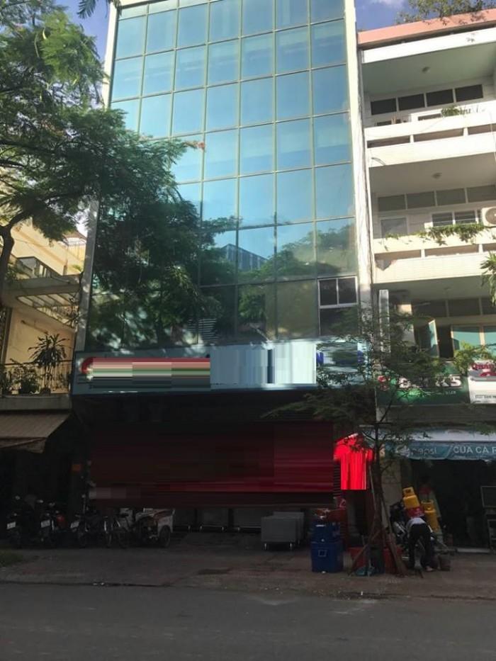 Cho thuê tòa nhà văn phòng trung tâm quận 4, đường Nguyễn Trường Tộ, p12
