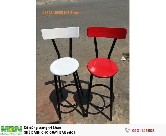 Ghế Dành Cho Quầy Bar Ptb01