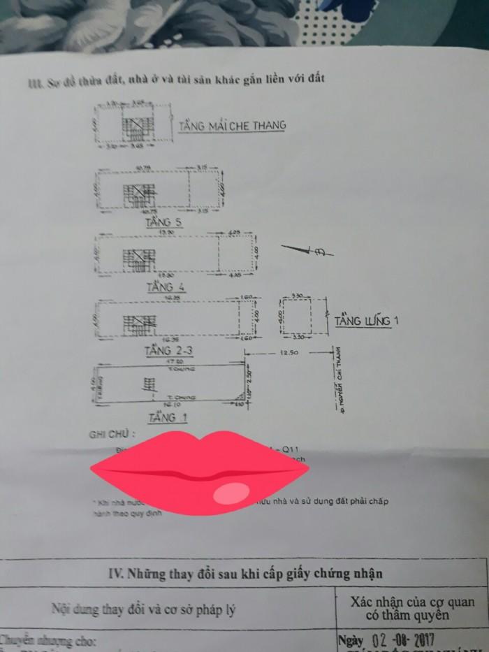 Bán gấp nhà mặt tiền đường Nguyễn Chí Thanh, P4, Q11, giá 21 tỷ (còn thương lượng)