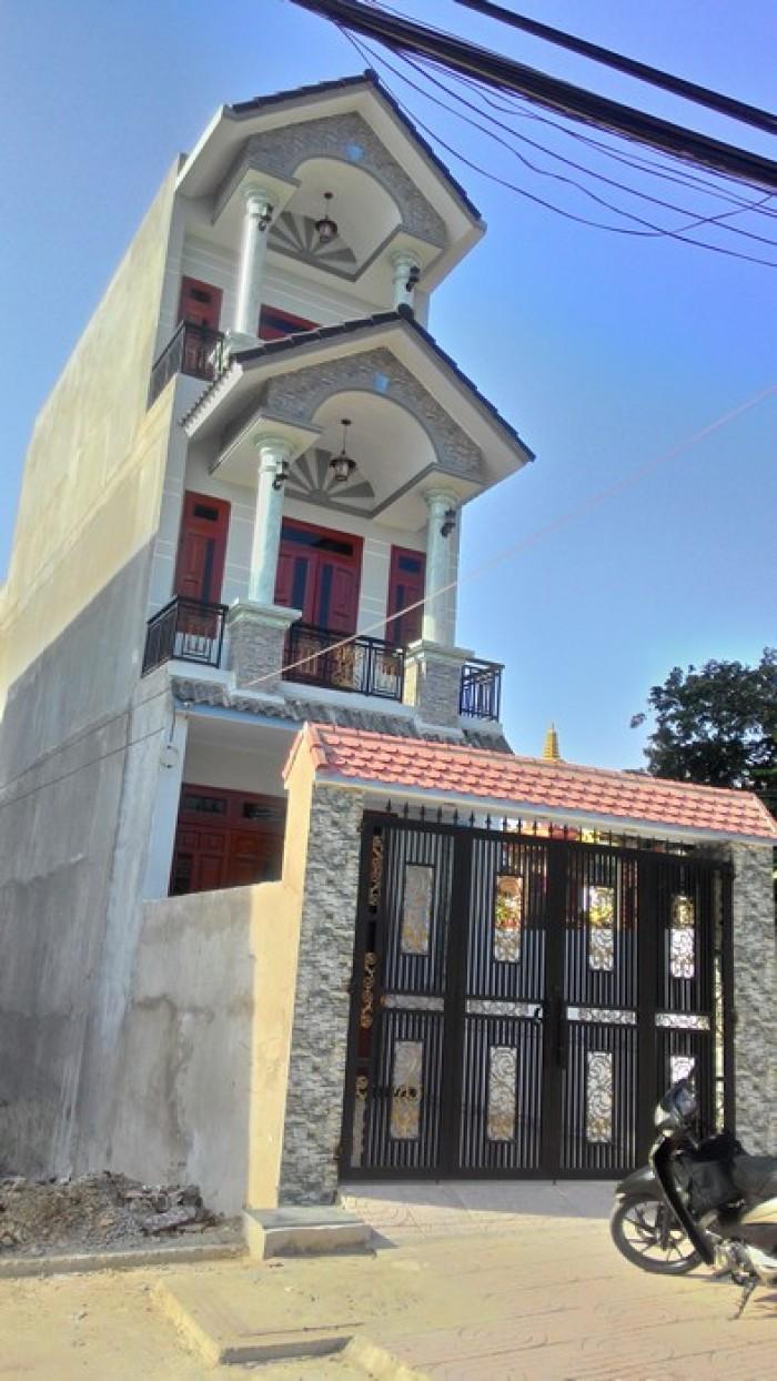 Nhà 1 trệt 2 lầu, giá 4.2 tỷ, Tân Phú Trung, Củ Chi