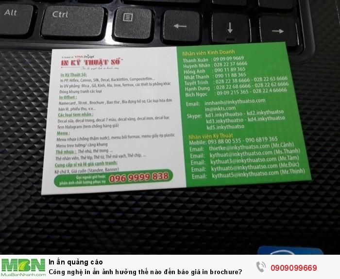 Bạn cần thông tin về bảng giá in brochure giá rẻ tại TPHCM - In Kỹ Thuật Số có...