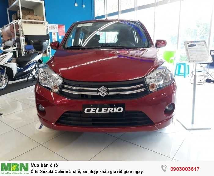 Ô tô Suzuki Celerio 5 chỗ, xe nhập khẩu giá rẻ! giao ngay
