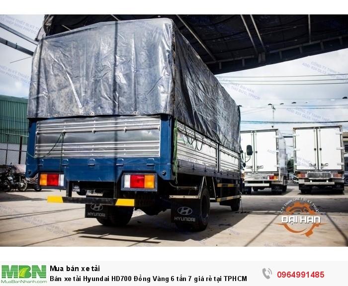 Bán xe tải Hyundai HD700 Đồng Vàng 6 tấn 7 giá rẻ tại TPHCM