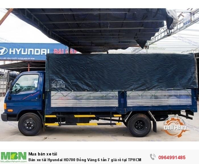 Bán xe tải Hyundai HD700 Đồng Vàng 6 tấn 7 giá rẻ tại TPHCM 2
