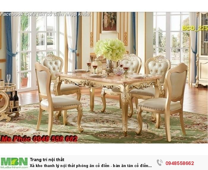 bàn ghế cổ điển châu âu Q2, Q7, Q82