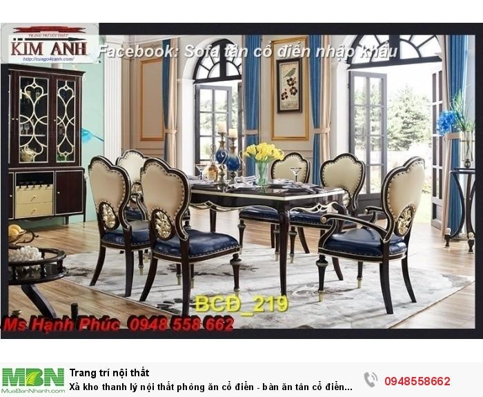 bàn ghế cổ điển Long Khánh8