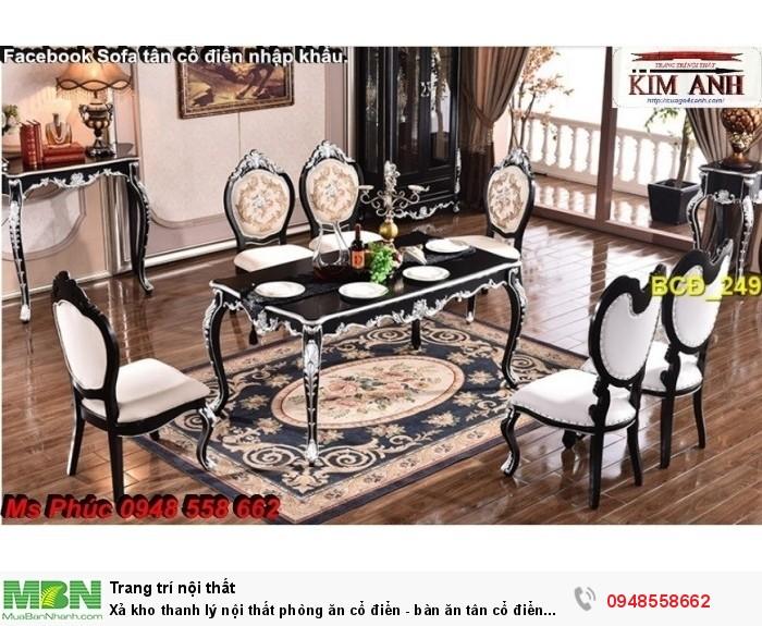 mẫu bàn ăn tân cổ điển Q8, Phú Mỹ Hưng14