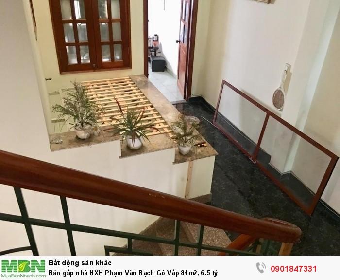 Bán gấp nhà HXH Phạm Văn Bạch Gò Vấp 84m2, 6.5 tỷ