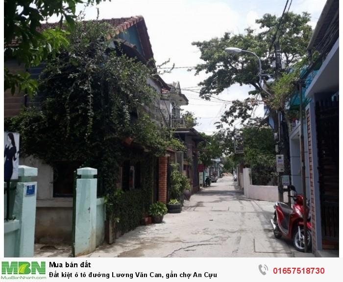 Đất kiệt ô tô đường Lương Văn Can, gần chợ An Cựu