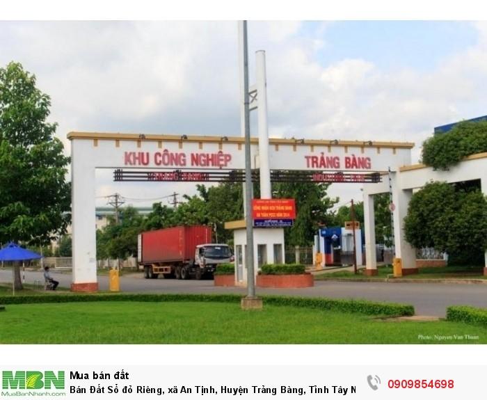 Bán Đất Sổ đỏ Riêng, xã An Tịnh, Huyện Trảng Bàng, Tỉnh Tây Ninh