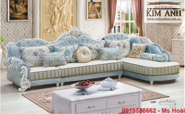 [3] Mua Sofa tân cổ điển giá rẻ ở đâu tại BÌnh Dương , ghế sofa cổ điển