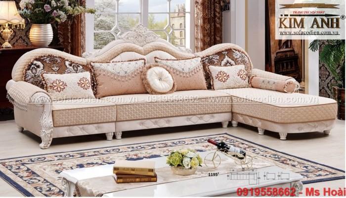 [6] Mua Sofa tân cổ điển giá rẻ ở đâu tại BÌnh Dương , ghế sofa cổ điển