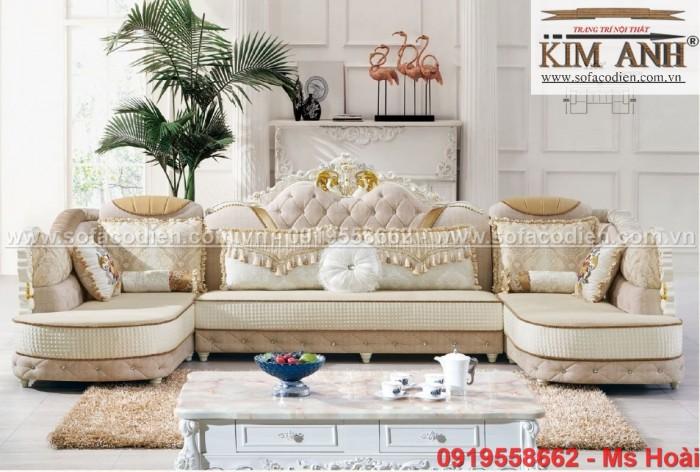 [16] Mua Sofa tân cổ điển giá rẻ ở đâu tại BÌnh Dương , ghế sofa cổ điển