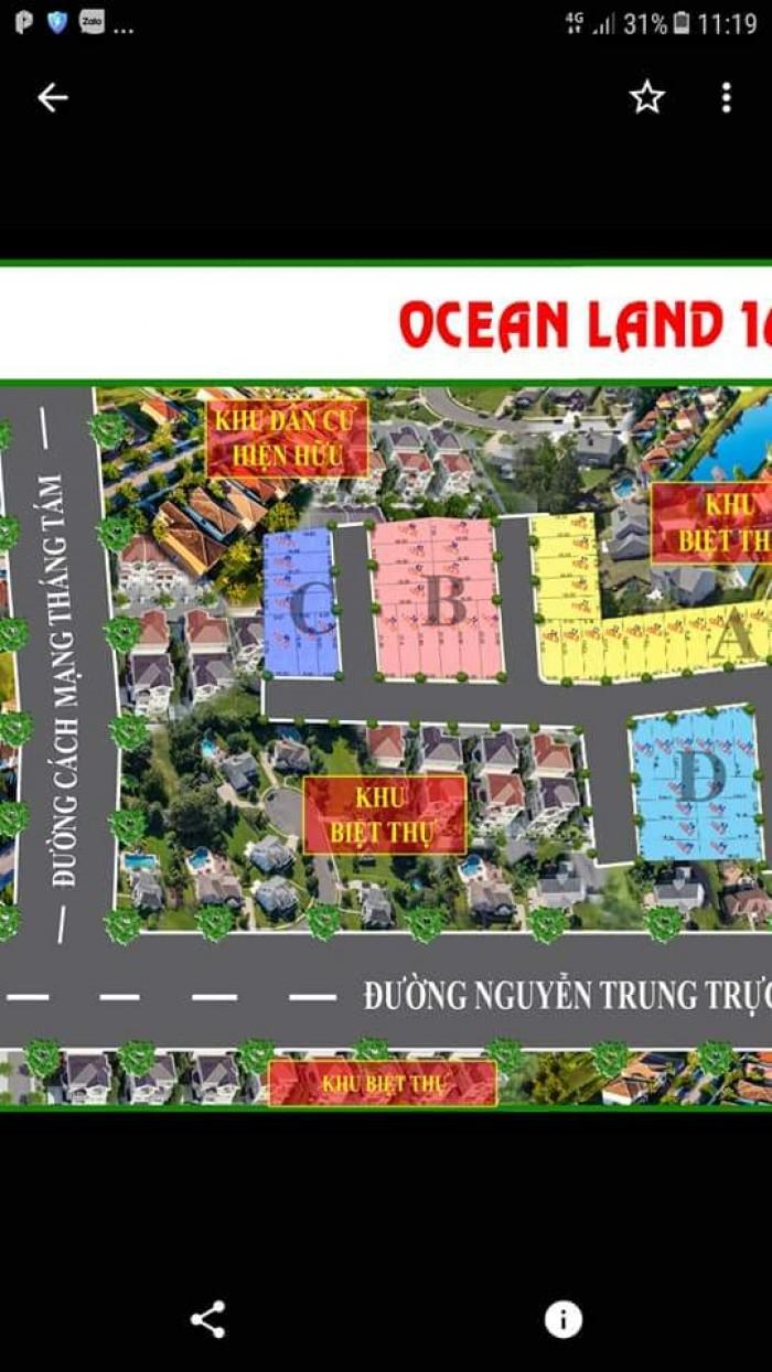 Ocean Land 16, Dt 100M2 – 120M2 Giá Bất Ngờ