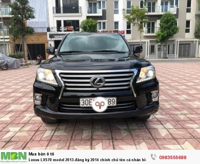Lexus LX570 model 2013.đăng ký 2014 chính chủ tên cá nhân biển Hà Nội đại chất