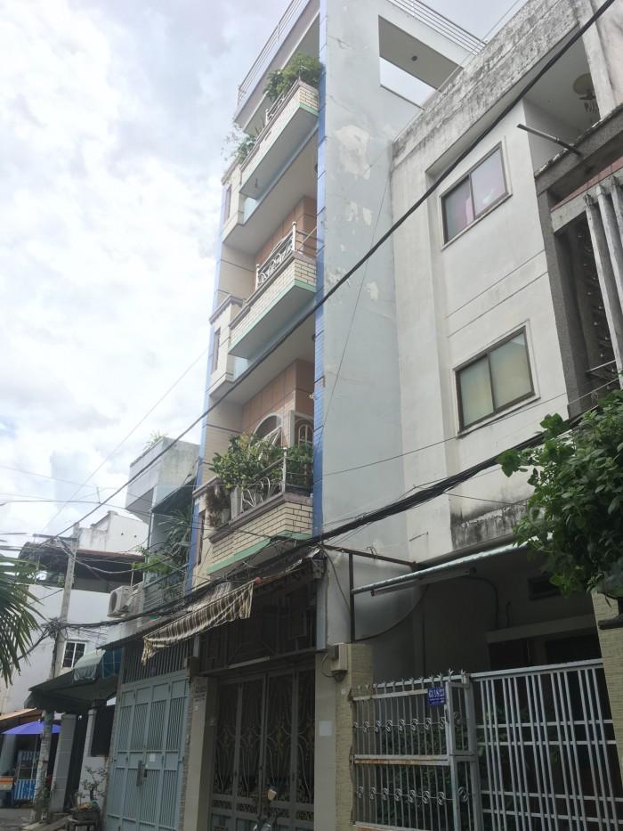 Bán nhà hẻm 5m Lý Thánh Tông, Tân Thới Hòa, 3.6x14, 3 lầu