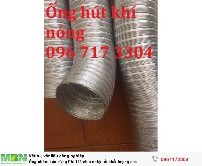 Ống nhôm bán cứng Phi 125 chịu nhiệt tốt chất lượng cao