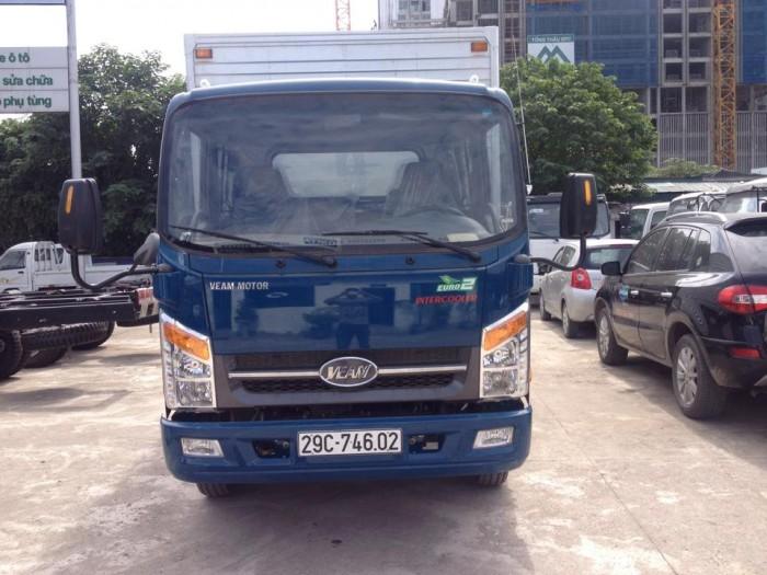 Xe tải Veam VT260,thùng dài 6M,tải trọng 2 tấn,cabin hiện đại