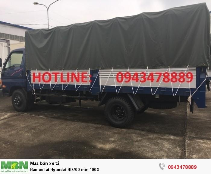 Bán xe tải Hyundai HD700 mới 100%