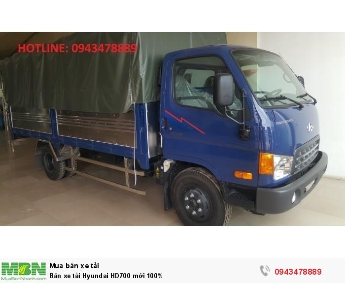 Bán xe tải Hyundai HD700 mới 100% 6
