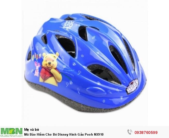 Mũ Bảo Hiểm Cho Bé Disney Hình Gấu Pooh NX9100