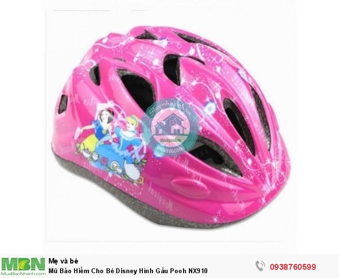 Mũ Bảo Hiểm Cho Bé Disney Hình Gấu Pooh NX9101