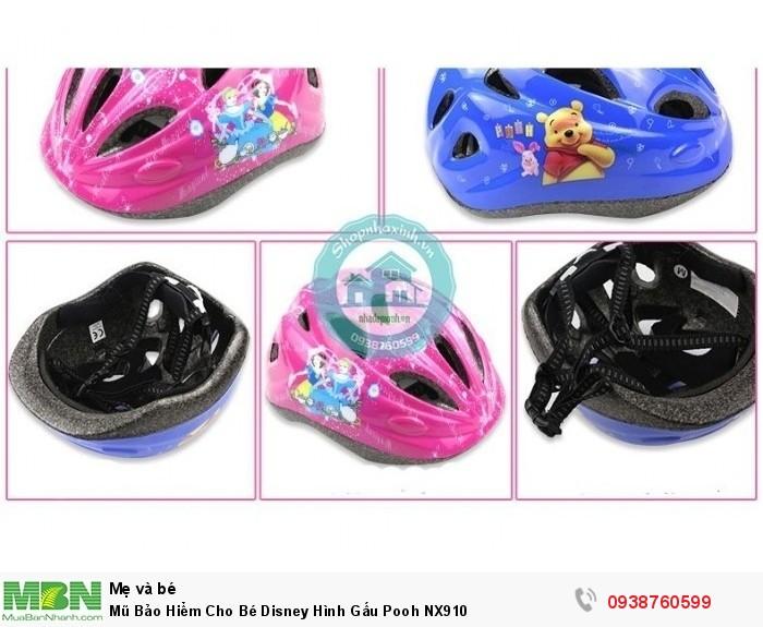 Mũ Bảo Hiểm Cho Bé Disney Hình Gấu Pooh NX9102