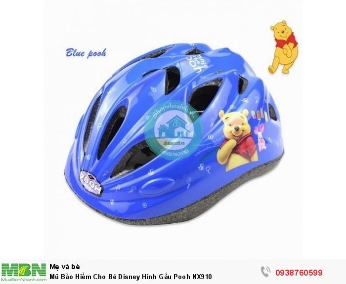 Mũ Bảo Hiểm Cho Bé Disney Hình Gấu Pooh NX9103