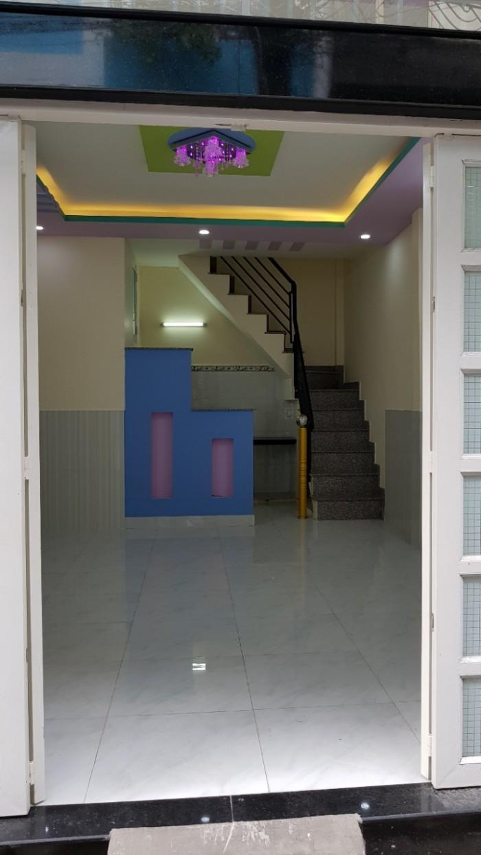Bán nhà hẻm thông Đường Lê Văn Phan, 4m x 7,2m Giá 3.35 tỷ Phường Phú Thọ Hòa, Q. Tân Phú