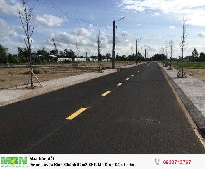 Dự án Lavita Bình Chánh 90m2 SHR MT Đinh Đức Thiện.